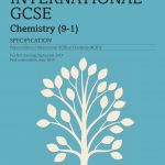 igcse chemistry specification front cover